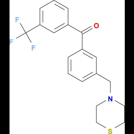 3-thiomorpholinomethyl-3'-trifluoromethylbenzophenone