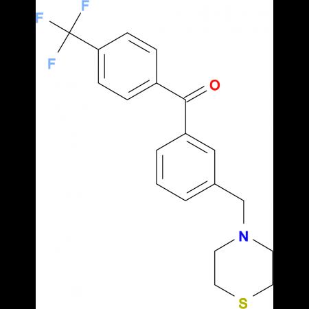3-thiomorpholinomethyl-4'-trifluoromethylbenzophenone