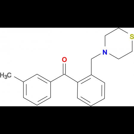 3'-methyl-2-thiomorpholinomethyl benzophenone