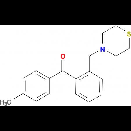4'-methyl-2-thiomorpholinomethyl benzophenone