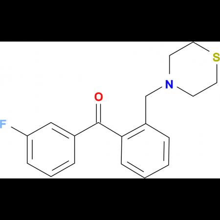 3'-fluoro-2-thiomorpholinomethyl benzophenone