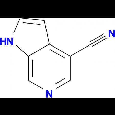 1H-Pyrrolo[2,3-c]pyridine-4-carbonitrile