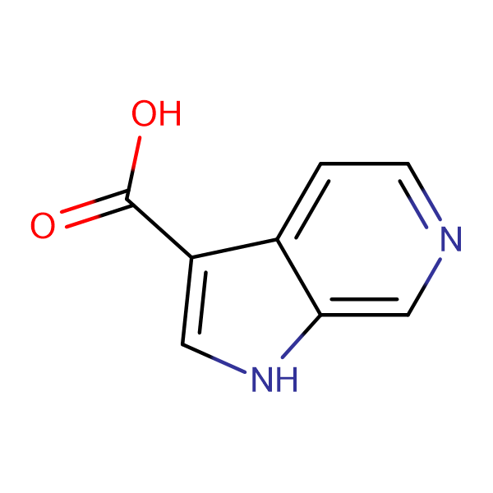 1H-Pyrrolo[2,3-c]pyridine-3-carboxylic acid