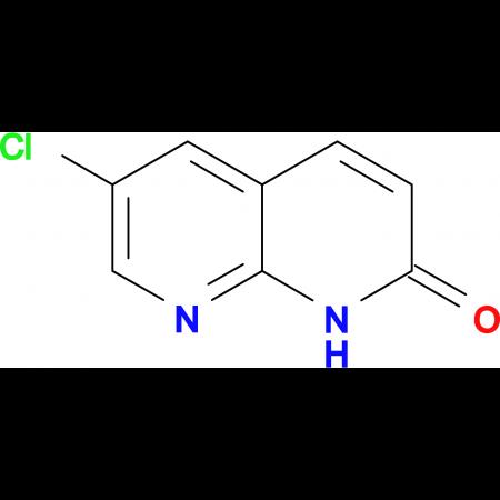6-Chloro-1,8-naphthyridin-2(1H)-one