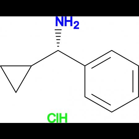 (S)-Cyclopropyl(phenyl)methanamine hydrochloride