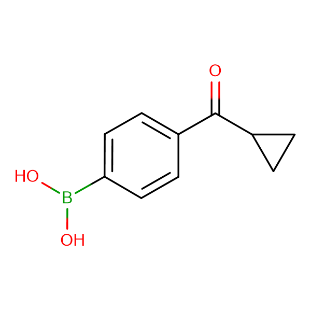 (4-(Cyclopropanecarbonyl)phenyl)boronic acid