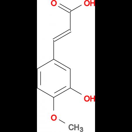 3-(3-Hydroxy-4-methoxyphenyl)acrylic acid