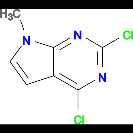 2,4-Dichloro-7-methyl-7H-pyrrolo[2,3-d]pyrimidine