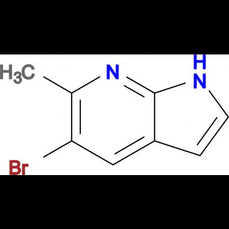 5-Bromo-6-methyl-1H-pyrrolo[2,3-b]pyridine
