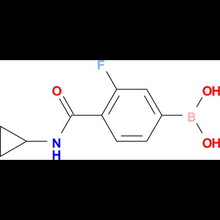 (4-(Cyclopropylcarbamoyl)-3-fluorophenyl)boronic acid