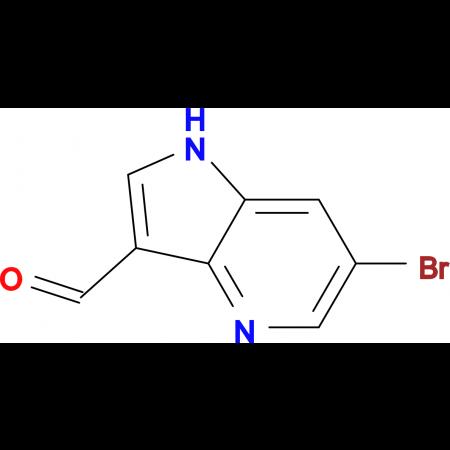 6-Bromo-1H-pyrrolo[3,2-b]pyridine-3-carbaldehyde
