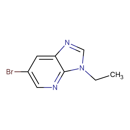 6-Bromo-3-ethyl-3H-imidazo[4,5-b]pyridine