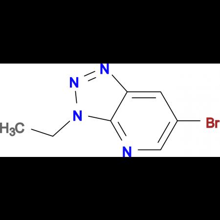 6-Bromo-3-ethyl-3H-[1,2,3]triazolo[4,5-b]pyridine