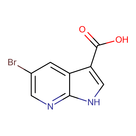 5-Bromo-1H-pyrrolo[2,3-b]pyridine-3-carboxylic acid