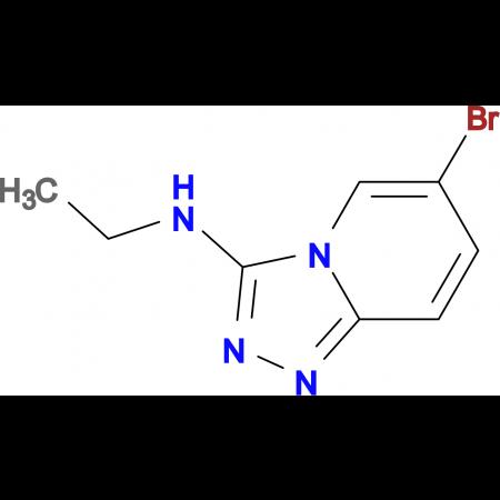 6-Bromo-N-ethyl-[1,2,4]triazolo[4,3-a]pyridin-3-amine