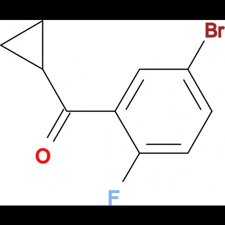 (5-Bromo-2-fluorophenyl)(cyclopropyl)methanone