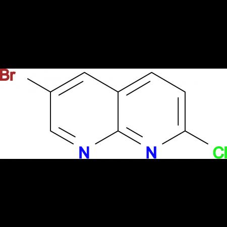 6-Bromo-2-chloro-1,8-naphthyridine