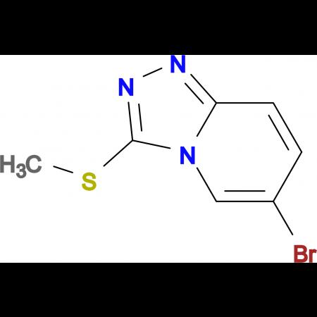 6-Bromo-3-(methylthio)-[1,2,4]triazolo[4,3-a]pyridine