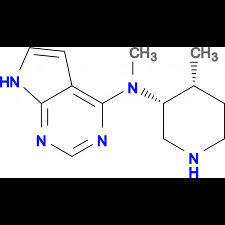 N-Methyl-N-((3R,4R)-4-methylpiperidin-3-yl)-7H-pyrrolo[2,3-d]pyrimidin-4-amine