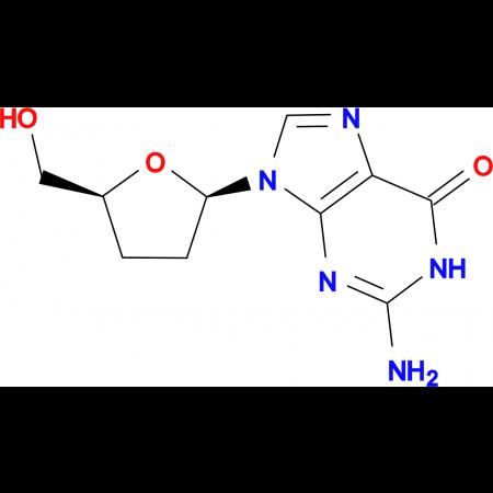 2-Amino-9-((2R,5S)-5-(hydroxymethyl)tetrahydrofuran-2-yl)-1H-purin-6(9H)-one