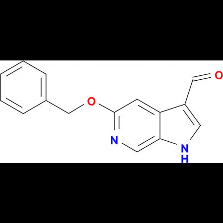 5-(Benzyloxy)-1H-pyrrolo[2,3-c]pyridine-3-carbaldehyde