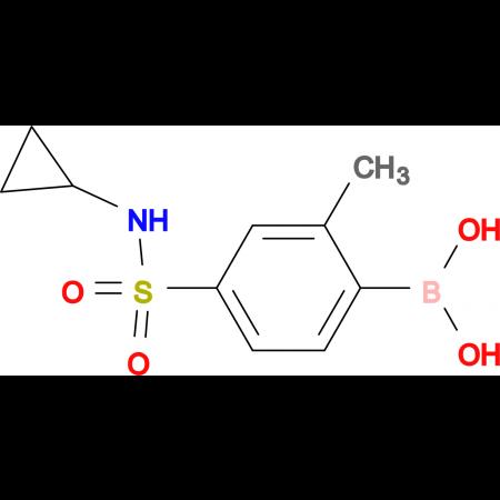 (4-(N-Cyclopropylsulfamoyl)-2-methylphenyl)boronic acid