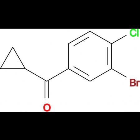 (3-Bromo-4-chlorophenyl)(cyclopropyl)methanone