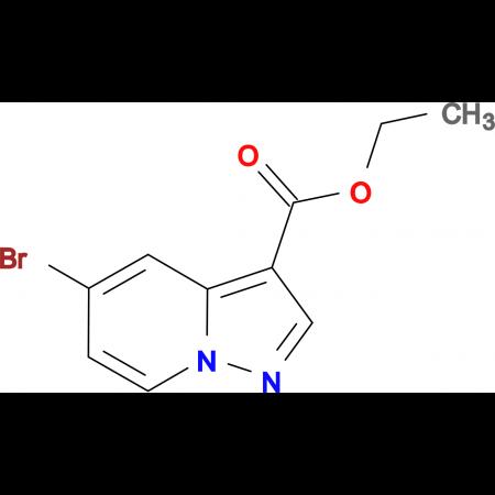 Ethyl 5-bromopyrazolo[1,5-a]pyridine-3-carboxylate