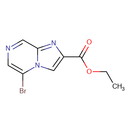 Ethyl 5-bromoimidazo[1,2-a]pyrazine-2-carboxylate
