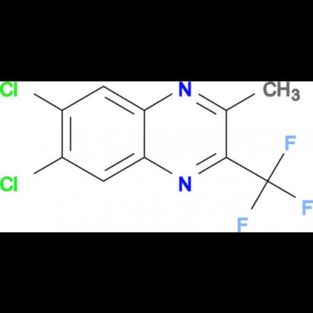6,7-Dichloro-2-methyl-3-(trifluoromethyl)quinoxaline