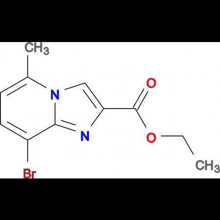 Ethyl 8-bromo-5-methylimidazo[1,2-a]pyridine-2-carboxylate