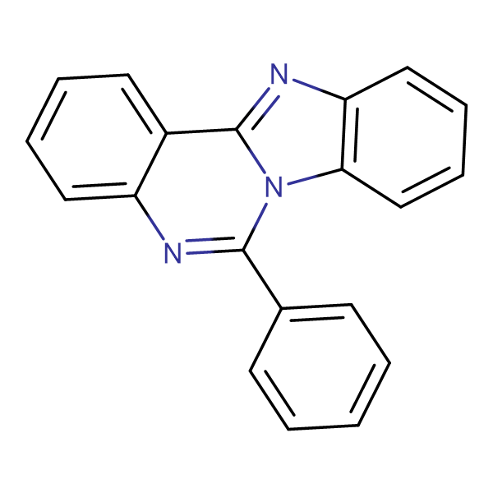 6-Phenylbenzo[4,5]imidazo[1,2-c]quinazoline