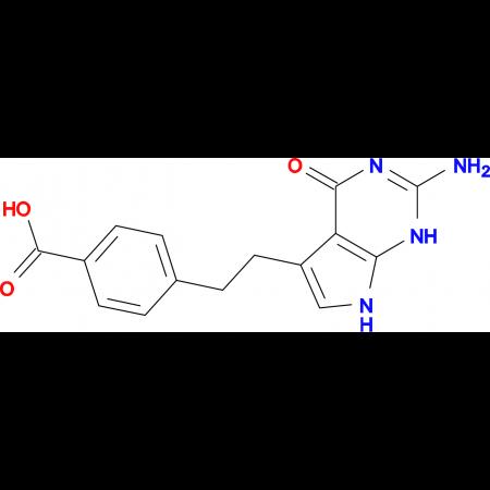 4-(2-(2-Amino-4-oxo-4,7-dihydro-1H-pyrrolo[2,3-d]pyrimidin-5-yl)ethyl)benzoic acid