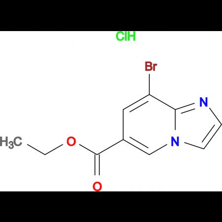 Ethyl 8-bromoimidazo[1,2-a]pyridine-6-carboxylatehydrochloride
