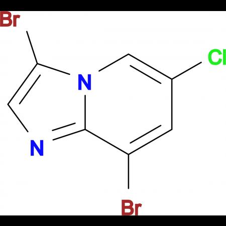3,8-Dibromo-6-chloroimidazo[1,2-a]pyridine