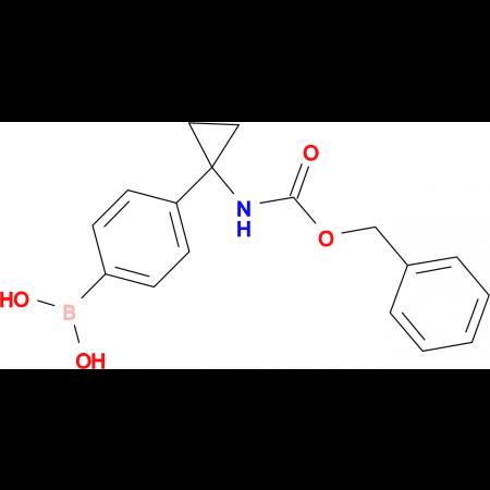 (4-(1-(((Benzyloxy)carbonyl)amino)cyclopropyl)-phenyl)-boronic acid