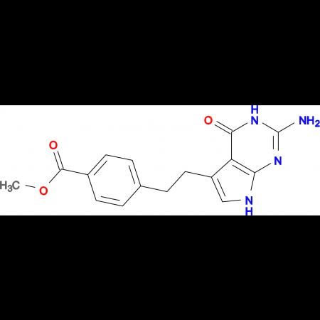 Methyl 4-(2-(2-amino-4-oxo-4,7-dihydro-3H-pyrrolo[2,3-d]pyrimidin-5-yl)ethyl)benzoate