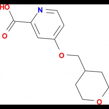 4-(Oxan-4-ylmethoxy)pyridine-2-carboxylic acid