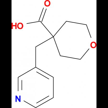 4-(Pyridin-3-ylmethyl)oxane-4-carboxylic acid