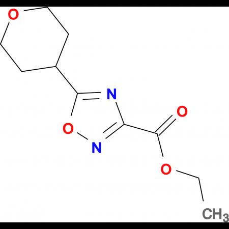 Ethyl 5-(oxan-4-yl)-1,2,4-oxadiazole-3-carboxylate