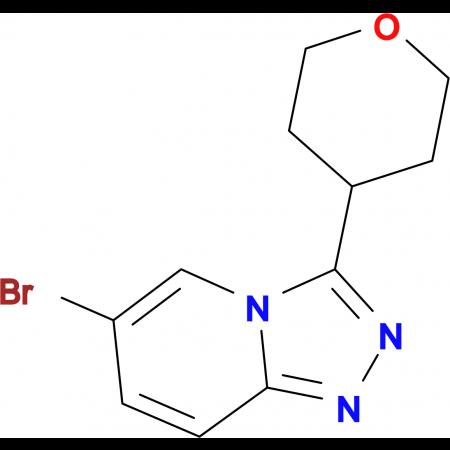 6-Bromo-3-(oxan-4-yl)-[1,2,4]triazolo[4,3-a]pyridine