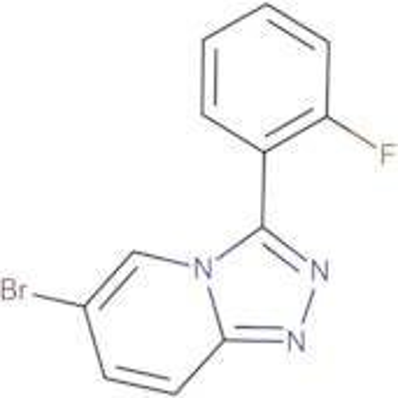 6-Bromo-3-(2-fluorophenyl)-[1,2,4]triazolo[4,3-a]pyridine