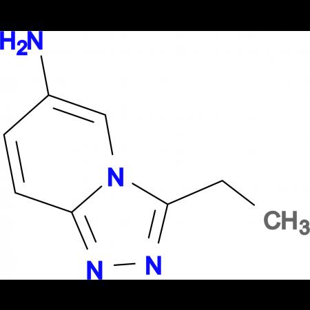 3-Ethyl-[1,2,4]triazolo[4,3-a]pyridin-6-amine