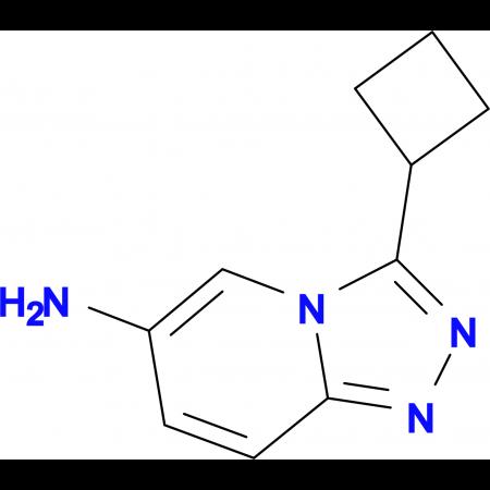 3-Cyclobutyl-[1,2,4]triazolo[4,3-a]pyridin-6-amine