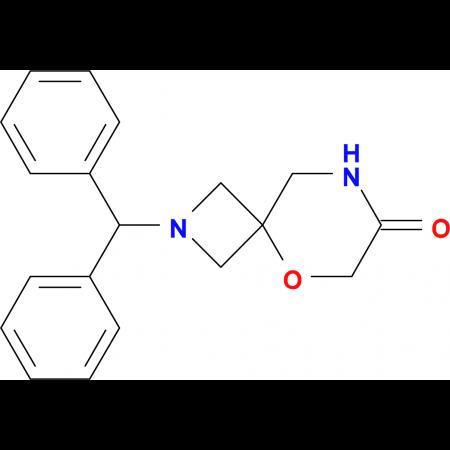 2-(Diphenylmethyl)-5-oxa-2,8-diazaspiro[3.5]nonan-7-one