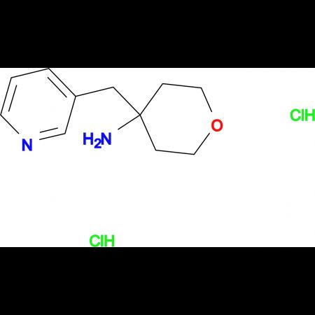 4-(Pyridin-3-ylmethyl)oxan-4-amine dihydrochloride
