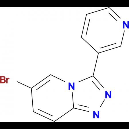 3-{6-Bromo-[1,2,4]triazolo[4,3-a]pyridin-3-yl}pyridine