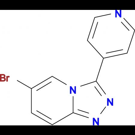 4-{6-Bromo-[1,2,4]triazolo[4,3-a]pyridin-3-yl}pyridine