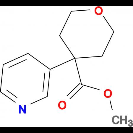 Methyl 4-(pyridin-3-yl)oxane-4-carboxylate