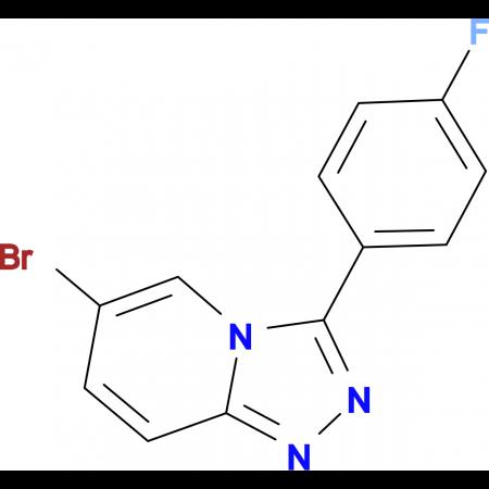 6-Bromo-3-(4-fluorophenyl)-[1,2,4]triazolo[4,3-a]pyridine